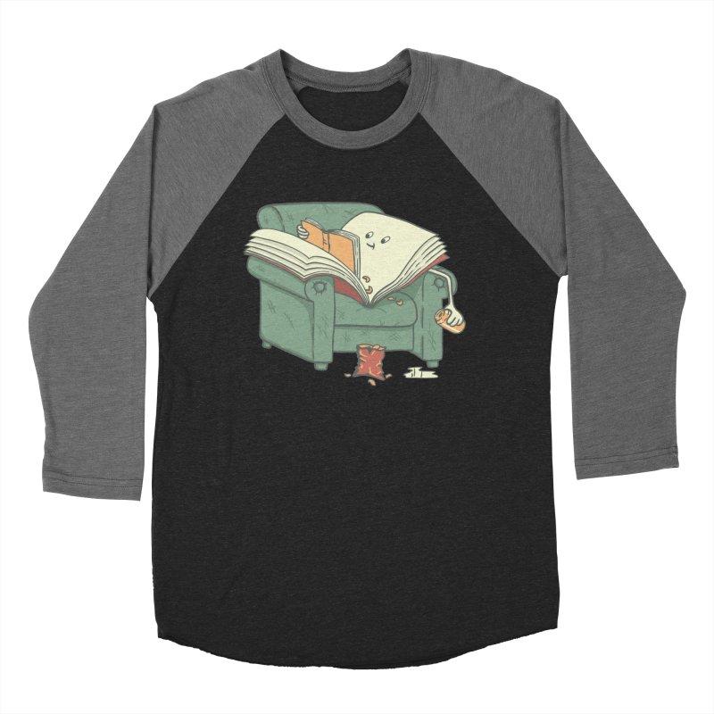 BOOK READS Women's Baseball Triblend Longsleeve T-Shirt by gotoup's Artist Shop