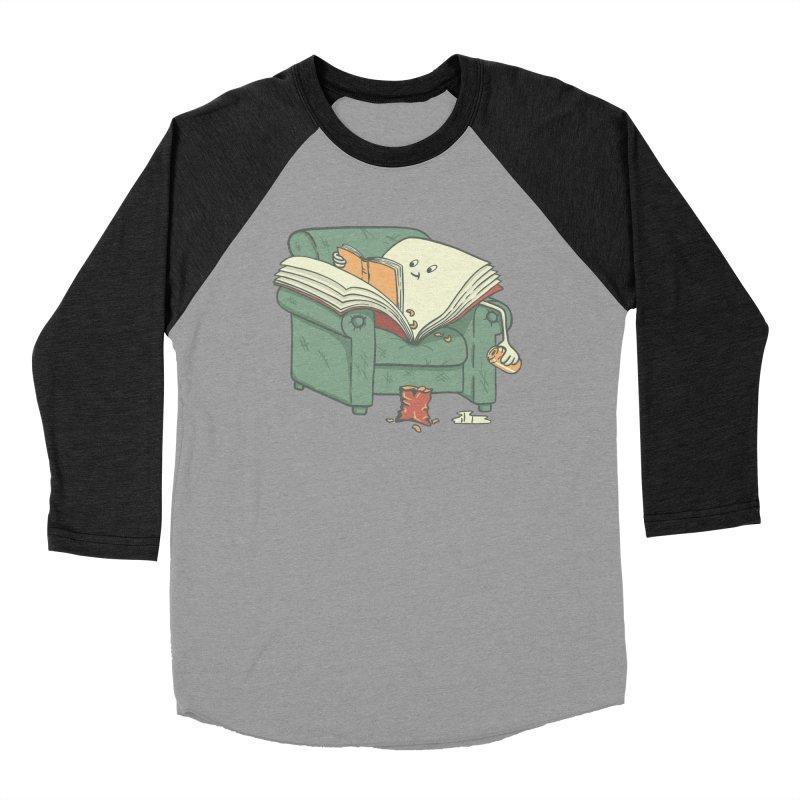 BOOK READS Men's Baseball Triblend Longsleeve T-Shirt by gotoup's Artist Shop
