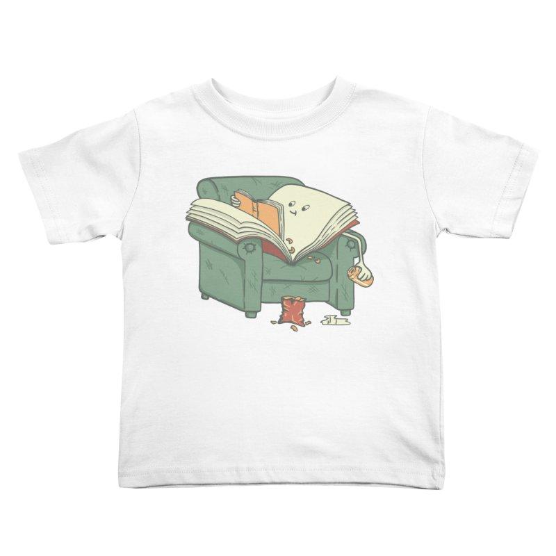 BOOK READS Kids Toddler T-Shirt by gotoup's Artist Shop
