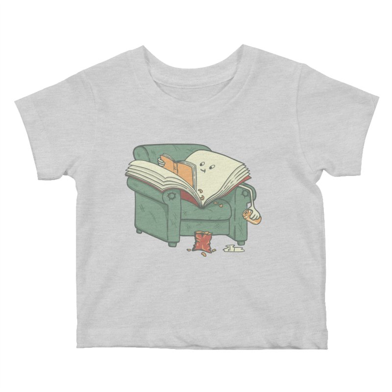 BOOK READS Kids Baby T-Shirt by gotoup's Artist Shop