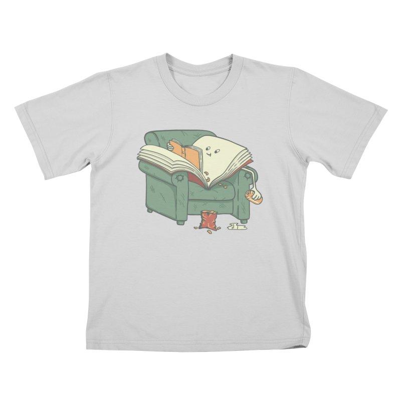 BOOK READS Kids T-Shirt by gotoup's Artist Shop