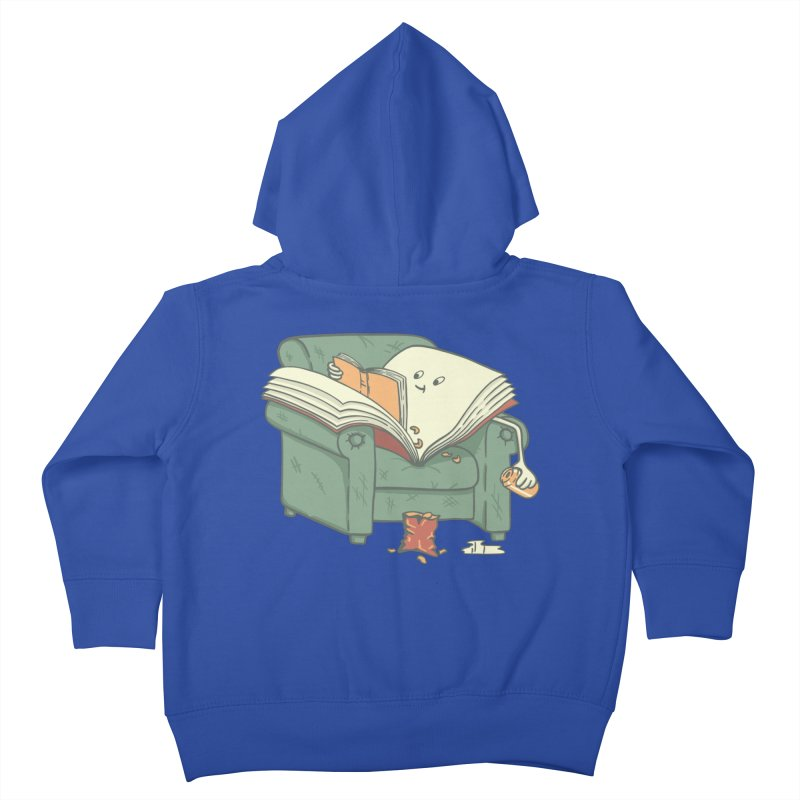 BOOK READS Kids Toddler Zip-Up Hoody by gotoup's Artist Shop