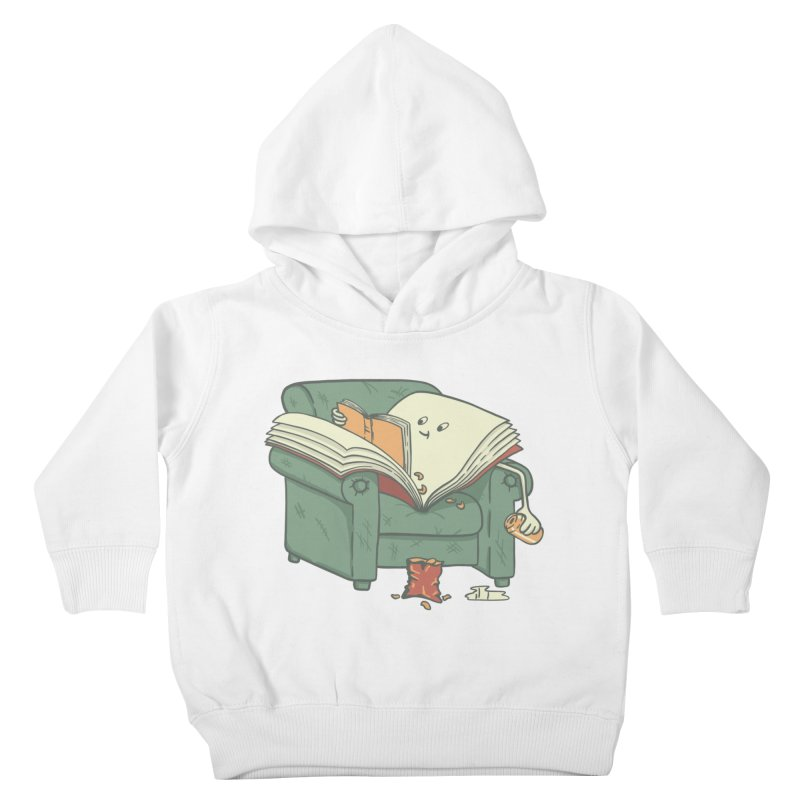 BOOK READS Kids Toddler Pullover Hoody by gotoup's Artist Shop
