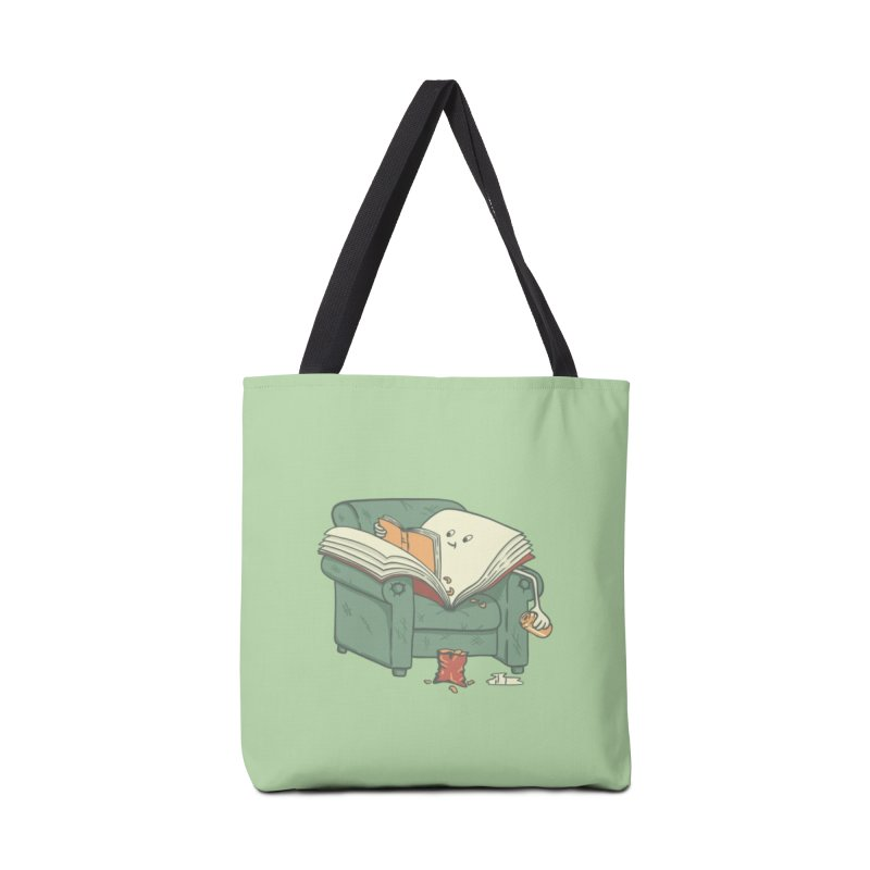 BOOK READS Accessories Tote Bag Bag by gotoup's Artist Shop