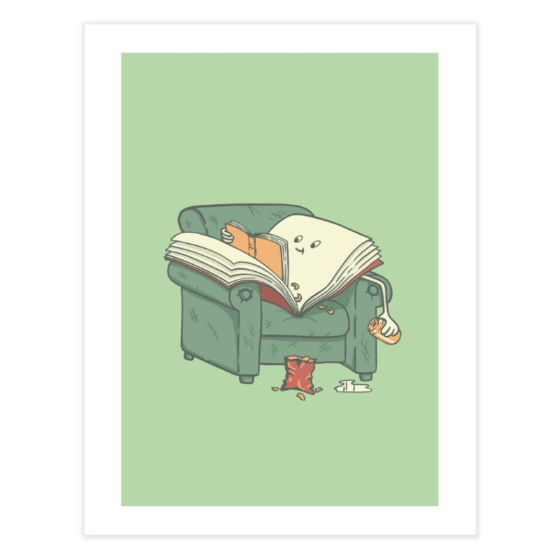 BOOK READS Home Fine Art Print by gotoup's Artist Shop