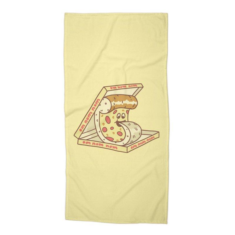 om nom nom Accessories Beach Towel by gotoup's Artist Shop