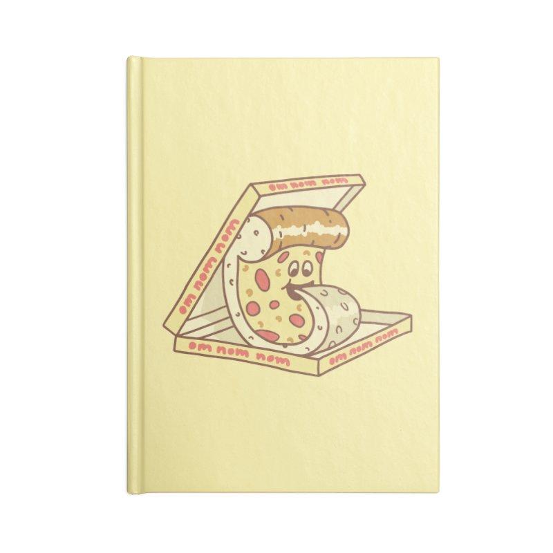 om nom nom Accessories Blank Journal Notebook by gotoup's Artist Shop