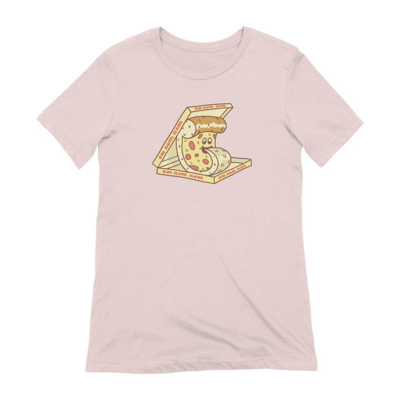 om nom nom Women's Extra Soft T-Shirt by gotoup's Artist Shop