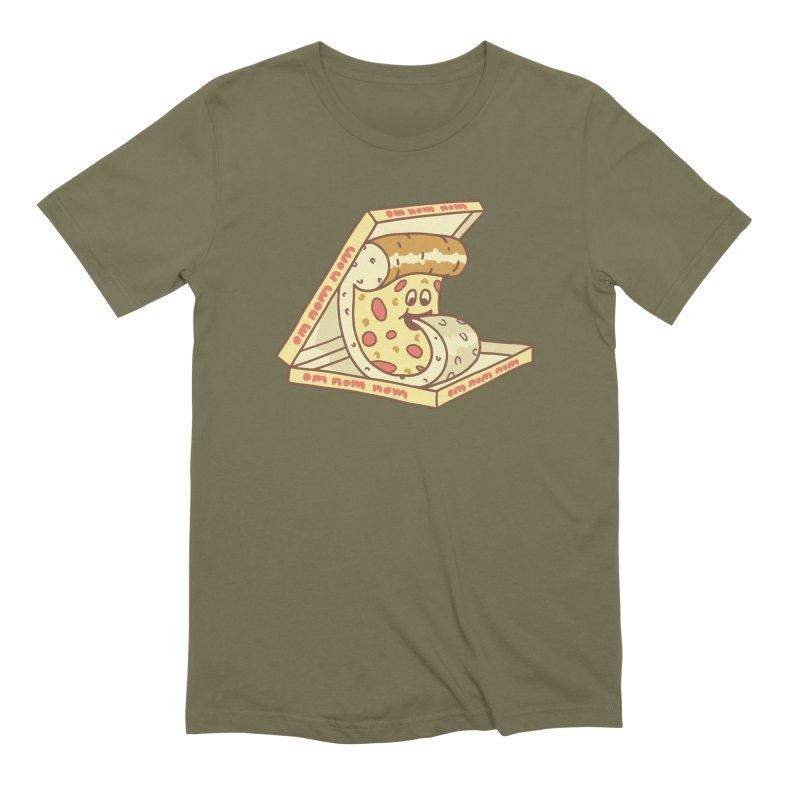 om nom nom Men's Extra Soft T-Shirt by gotoup's Artist Shop
