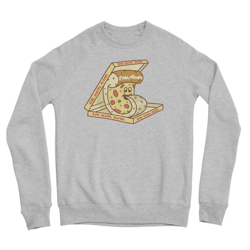 om nom nom Men's Sponge Fleece Sweatshirt by gotoup's Artist Shop