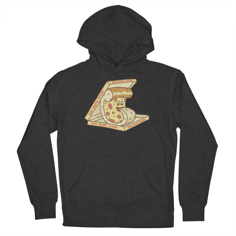 om nom nom Men's French Terry Pullover Hoody by gotoup's Artist Shop