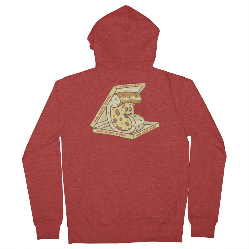 om nom nom Women's French Terry Zip-Up Hoody by gotoup's Artist Shop
