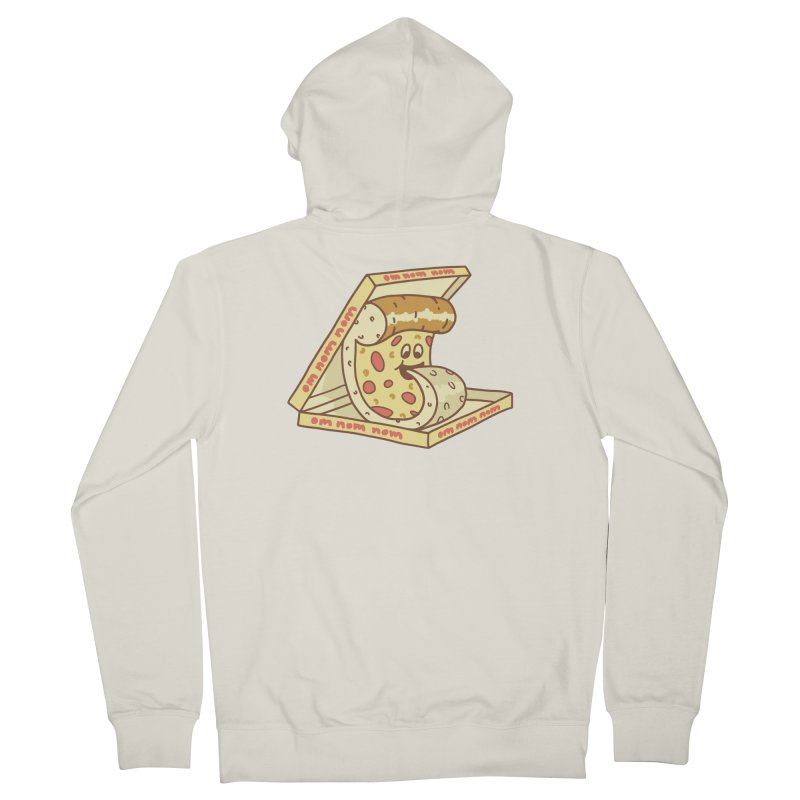 om nom nom Men's French Terry Zip-Up Hoody by gotoup's Artist Shop