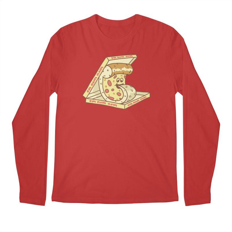 om nom nom Men's Regular Longsleeve T-Shirt by gotoup's Artist Shop
