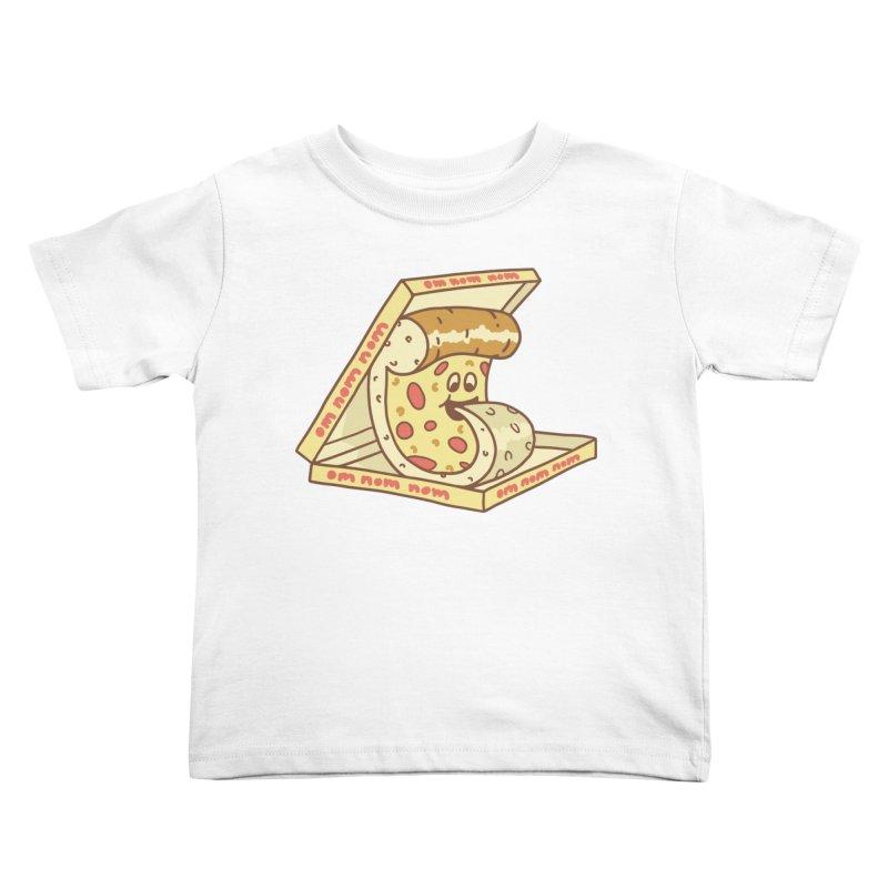 om nom nom Kids Toddler T-Shirt by gotoup's Artist Shop