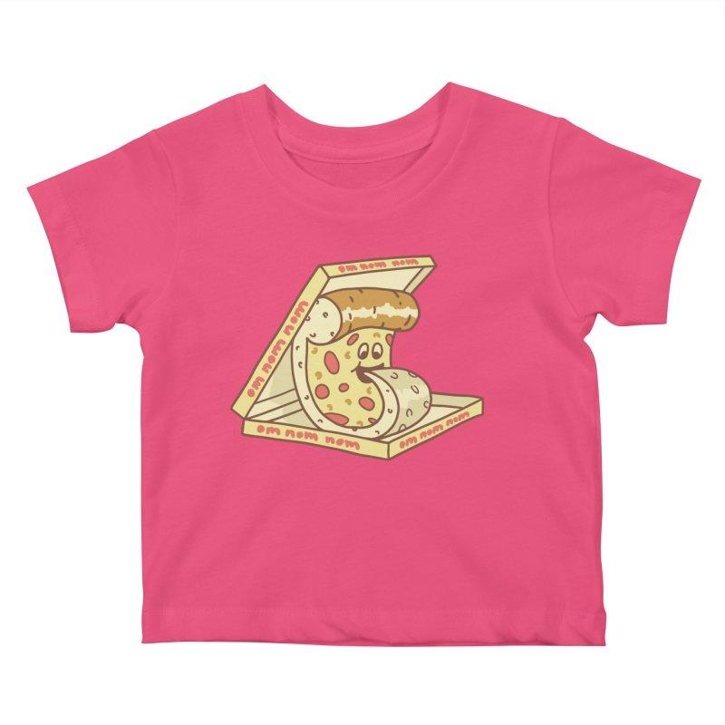 om nom nom Kids Baby T-Shirt by gotoup's Artist Shop