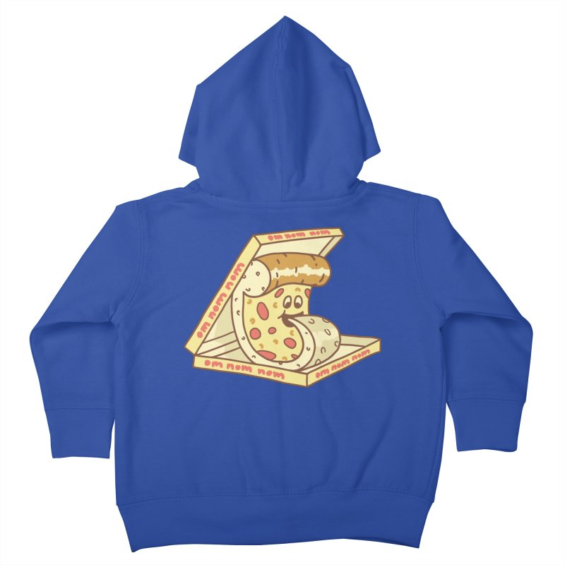 om nom nom Kids Toddler Zip-Up Hoody by gotoup's Artist Shop