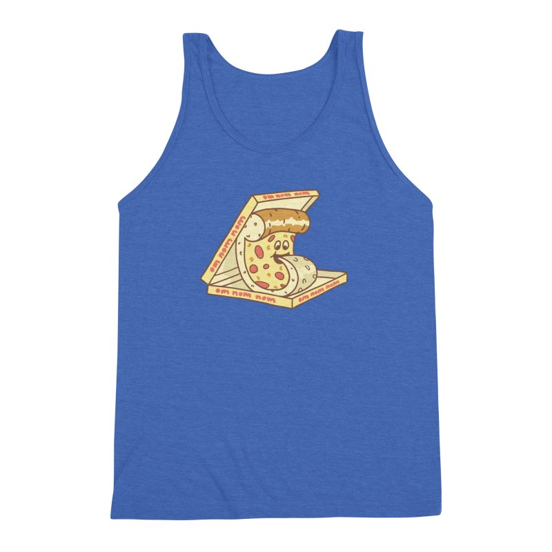 om nom nom Men's Triblend Tank by gotoup's Artist Shop