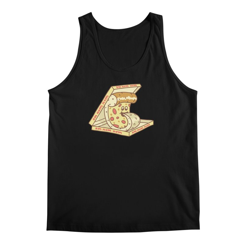 om nom nom Men's Regular Tank by gotoup's Artist Shop