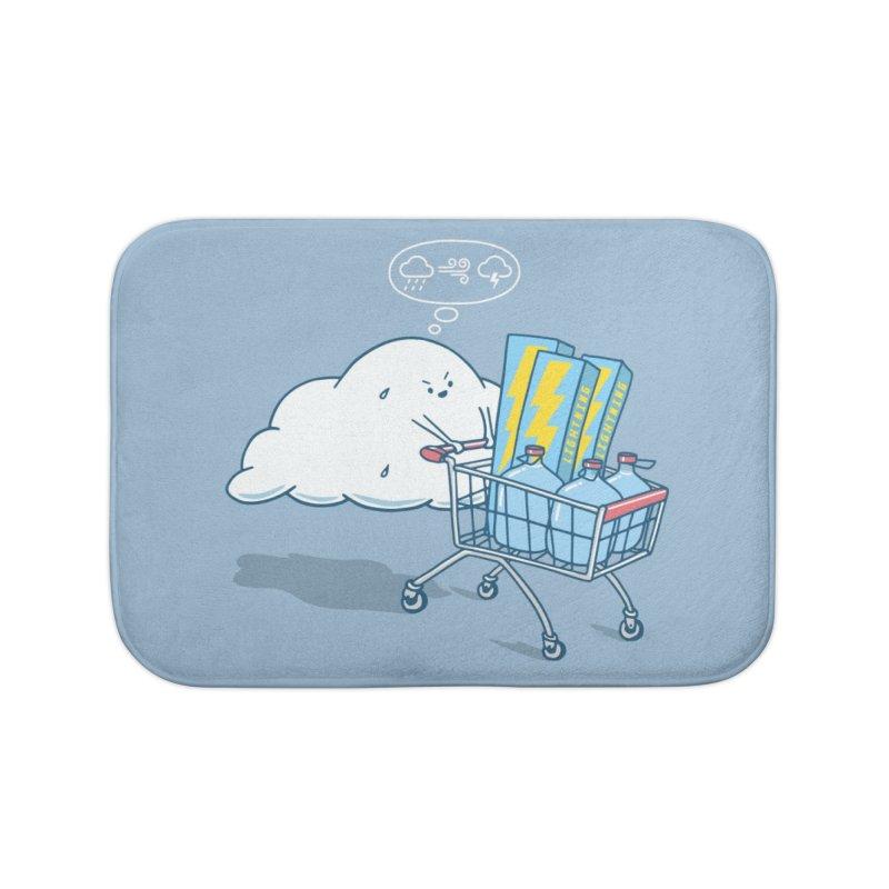 weather forecast Home Bath Mat by gotoup's Artist Shop