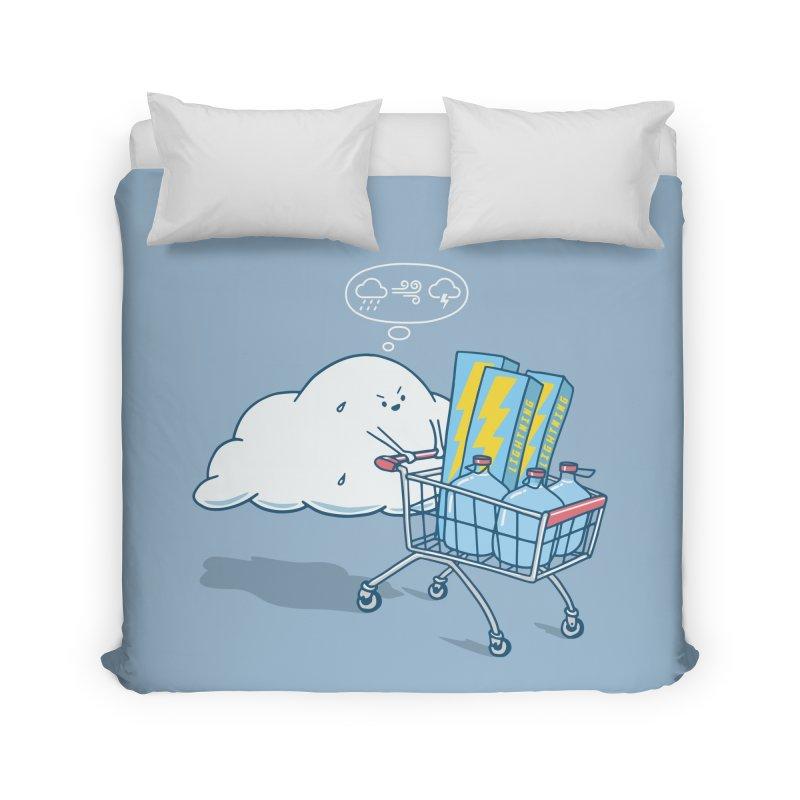 weather forecast Home Duvet by gotoup's Artist Shop