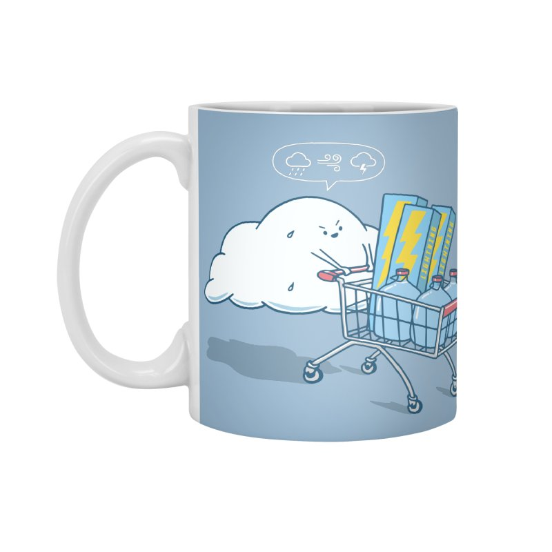 weather forecast Accessories Standard Mug by gotoup's Artist Shop