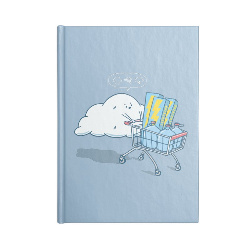 weather forecast Accessories Blank Journal Notebook by gotoup's Artist Shop