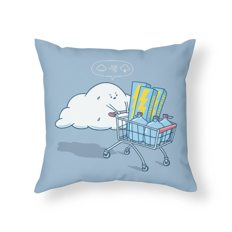 weather forecast Home Throw Pillow by gotoup's Artist Shop