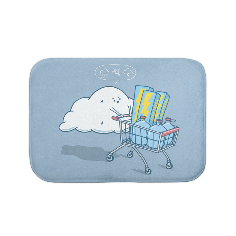 weather forecast Home Bath Mat by gotoup's Artist Shop