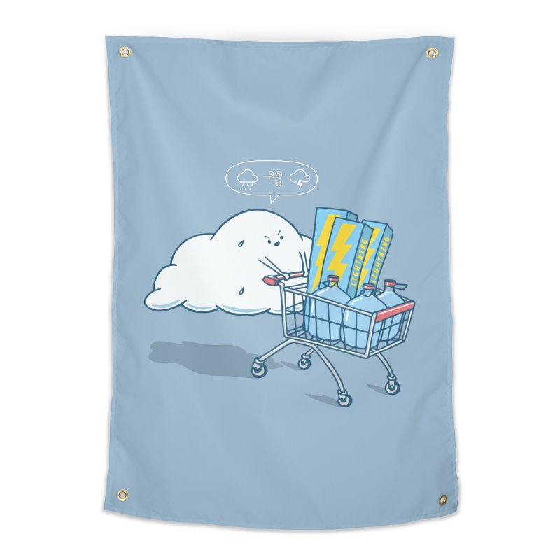 weather forecast Home Tapestry by gotoup's Artist Shop