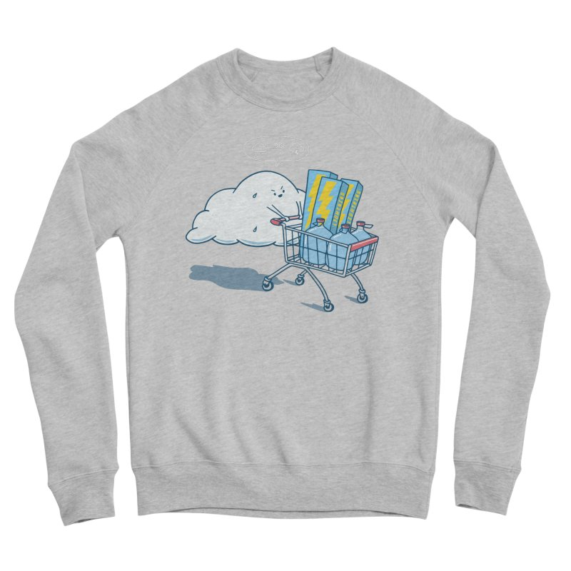 weather forecast Women's Sponge Fleece Sweatshirt by gotoup's Artist Shop