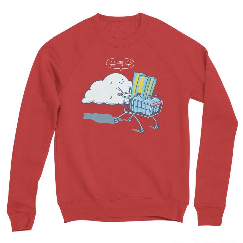 weather forecast Men's Sponge Fleece Sweatshirt by gotoup's Artist Shop