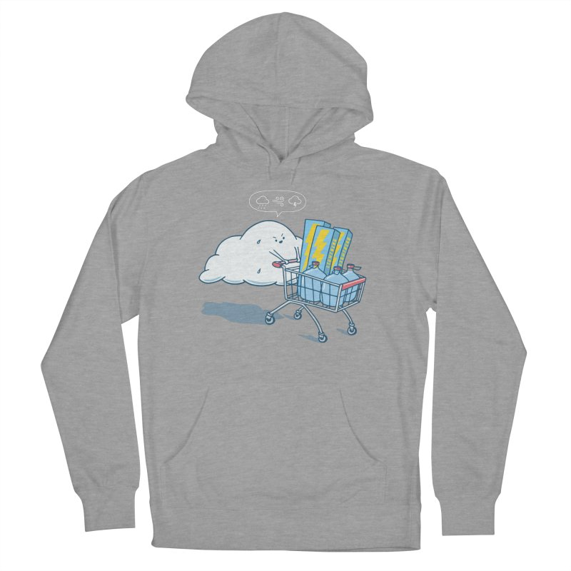 weather forecast Women's French Terry Pullover Hoody by gotoup's Artist Shop
