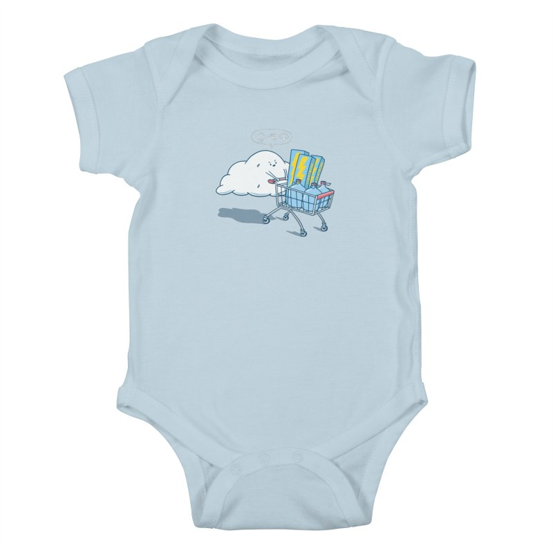 weather forecast Kids Baby Bodysuit by gotoup's Artist Shop