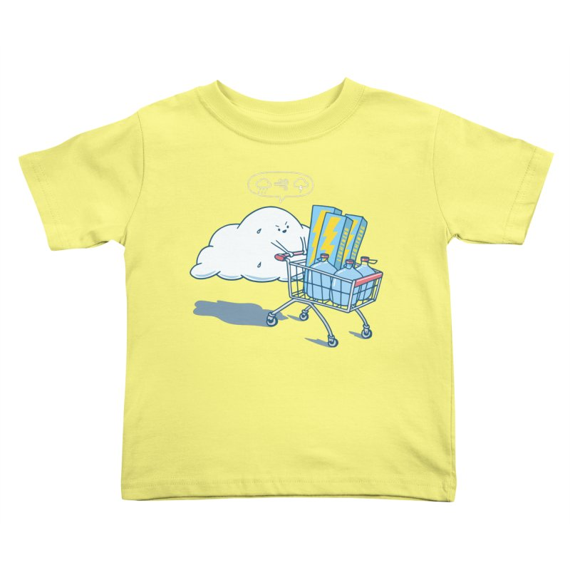 weather forecast Kids Toddler T-Shirt by gotoup's Artist Shop