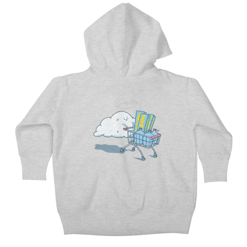 weather forecast Kids Baby Zip-Up Hoody by gotoup's Artist Shop