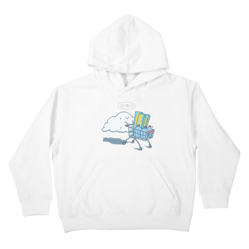 weather forecast Kids Pullover Hoody by gotoup's Artist Shop