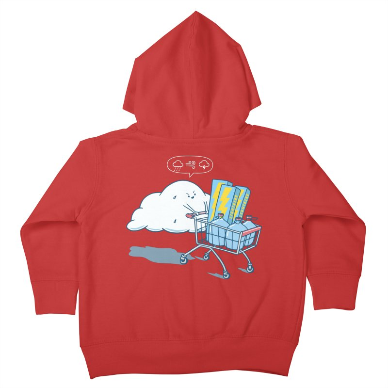 weather forecast Kids Toddler Zip-Up Hoody by gotoup's Artist Shop