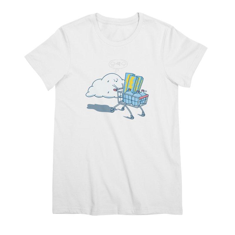 weather forecast Women's Premium T-Shirt by gotoup's Artist Shop