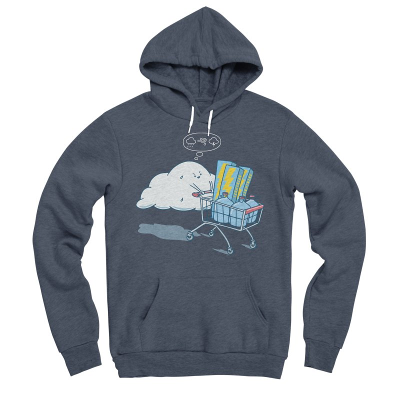 weather forecast Men's Sponge Fleece Pullover Hoody by gotoup's Artist Shop