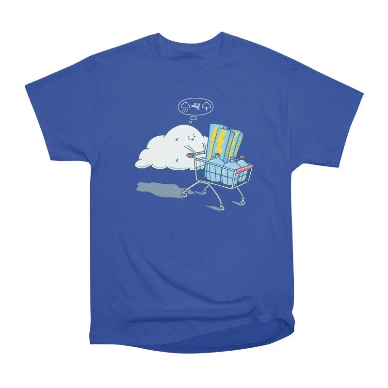 weather forecast Men's Heavyweight T-Shirt by gotoup's Artist Shop