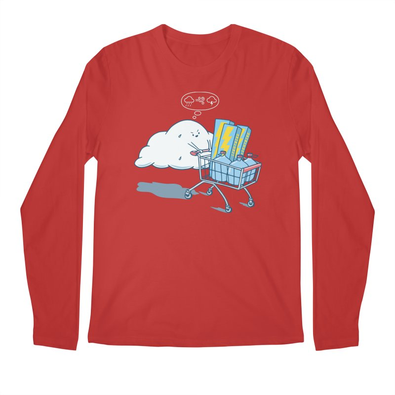 weather forecast Men's Regular Longsleeve T-Shirt by gotoup's Artist Shop