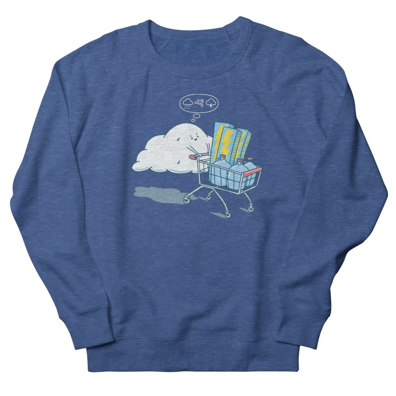 weather forecast Women's French Terry Sweatshirt by gotoup's Artist Shop