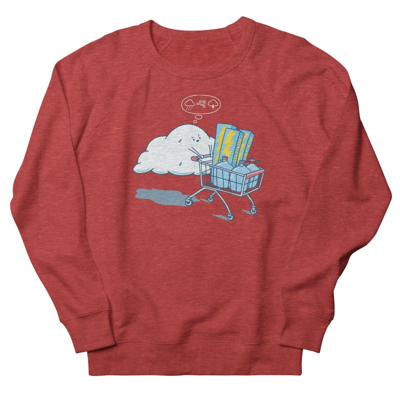 weather forecast Men's French Terry Sweatshirt by gotoup's Artist Shop