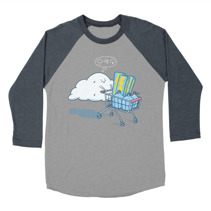 weather forecast Men's Baseball Triblend Longsleeve T-Shirt by gotoup's Artist Shop