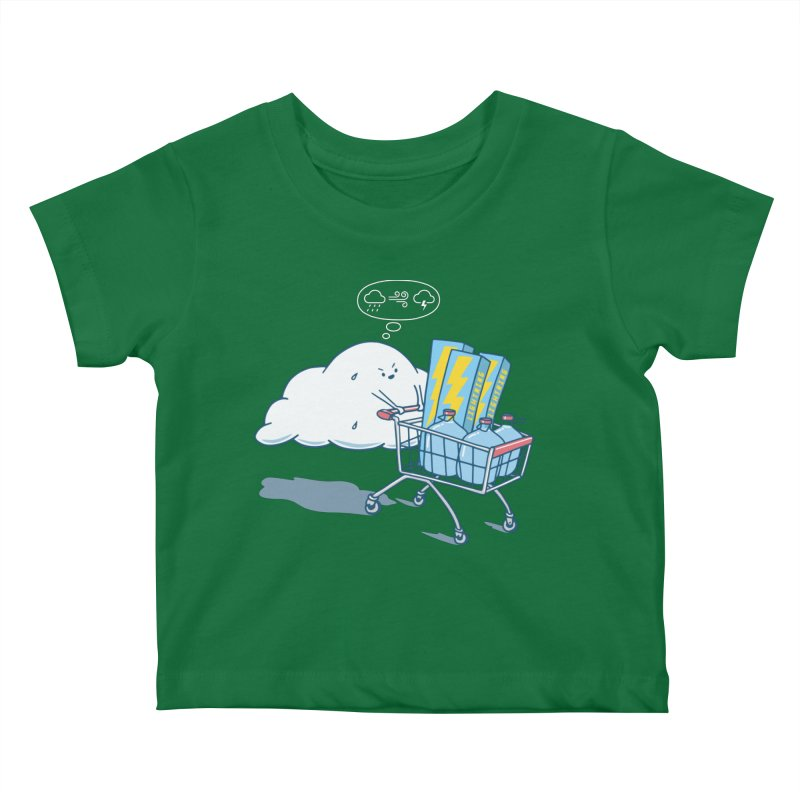 weather forecast Kids Baby T-Shirt by gotoup's Artist Shop