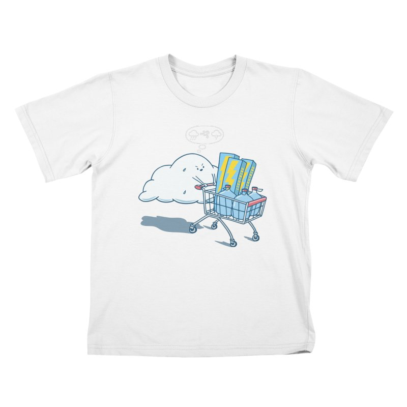 weather forecast Kids T-Shirt by gotoup's Artist Shop