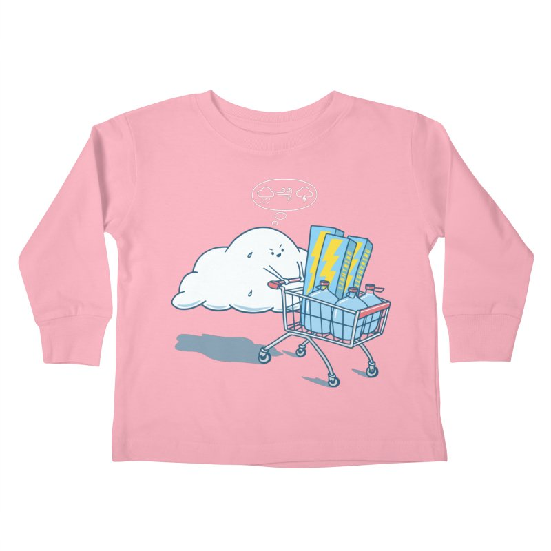 weather forecast Kids Toddler Longsleeve T-Shirt by gotoup's Artist Shop