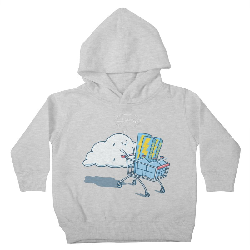 weather forecast Kids Toddler Pullover Hoody by gotoup's Artist Shop