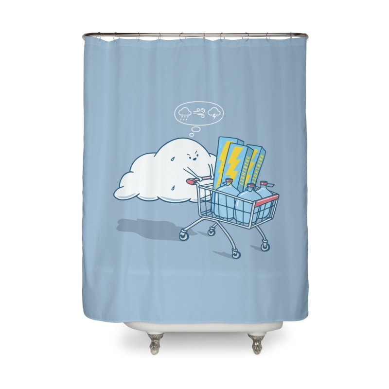 weather forecast Home Shower Curtain by gotoup's Artist Shop